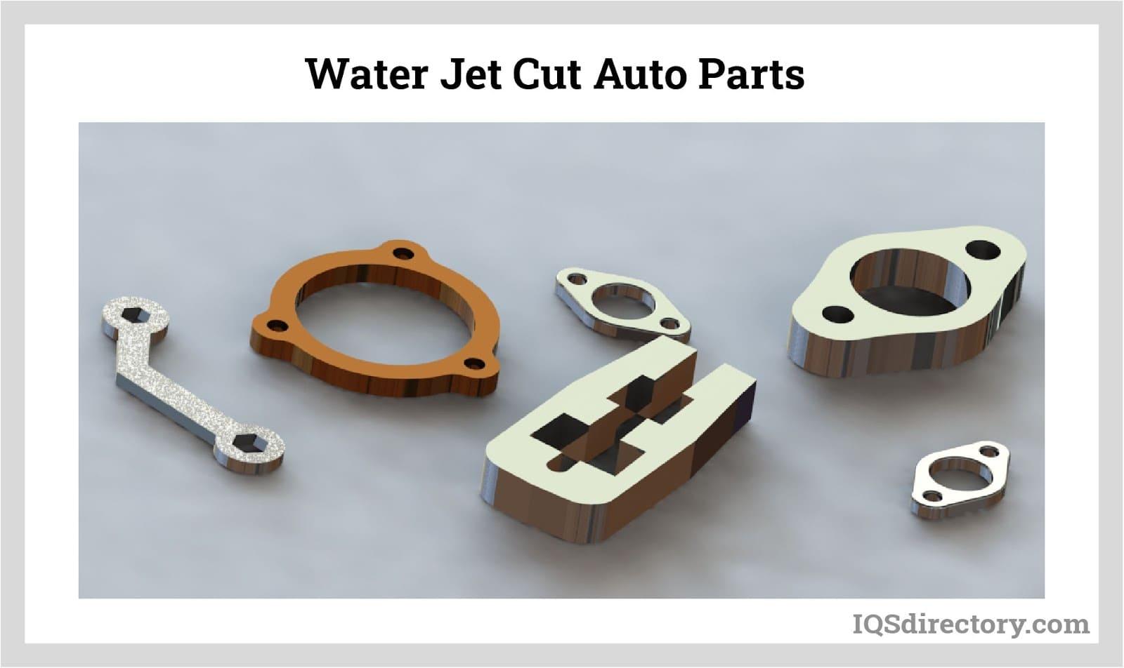 Water Jet Cut Auto Parts
