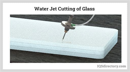Water Jet Cutting of Glass