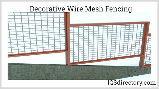 Decorative Wire Mesh Fencing