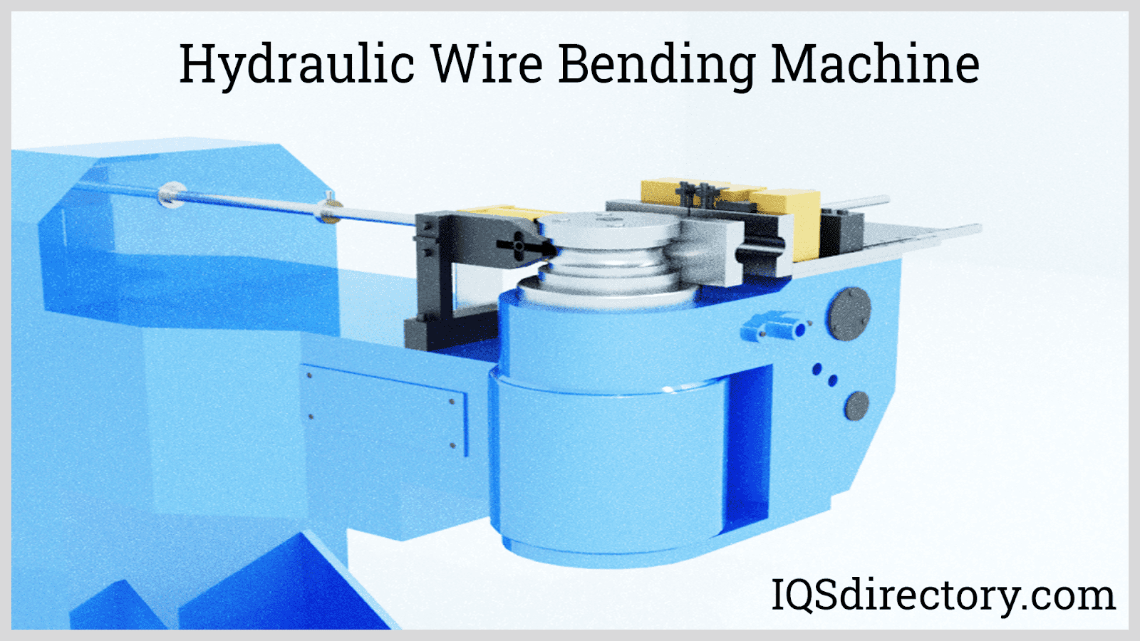 Hydraulic Wire Bending Machine