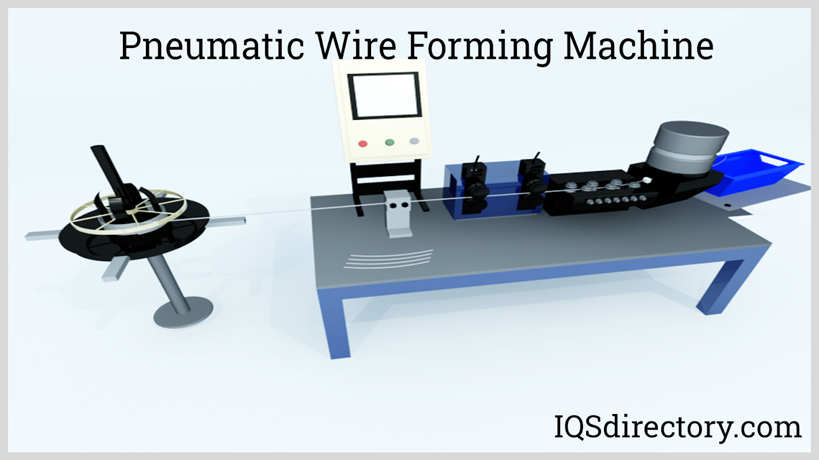 Pneumatic Wire Forming Machine
