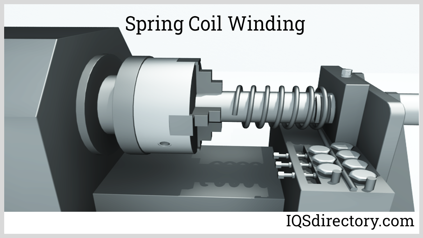Spring Coil Winding