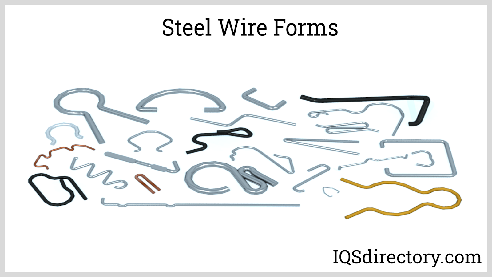 Steel Wire Forms