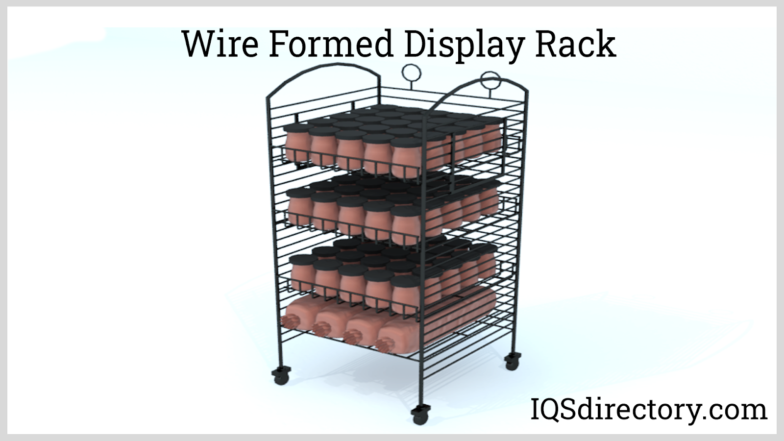 Wire Formed Display Rack