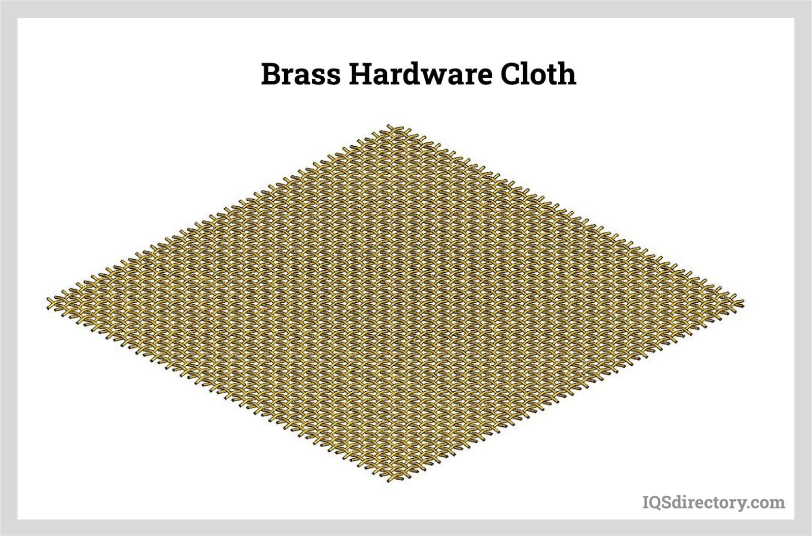 Brass Hardware Cloth