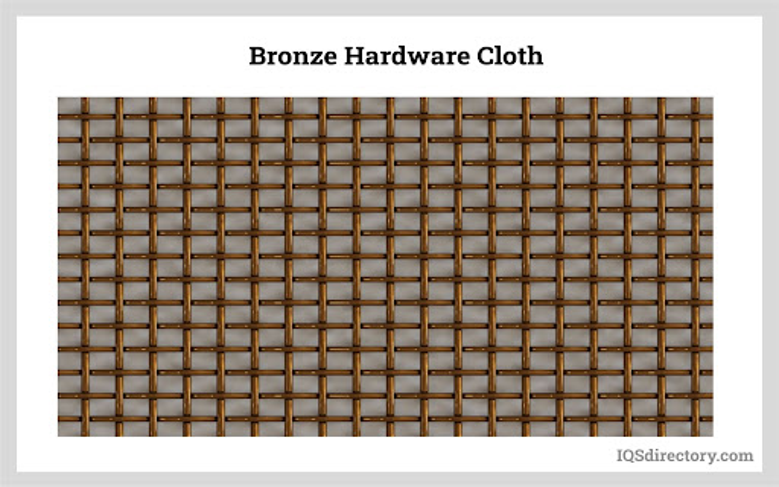 Bronze Hardware Cloth