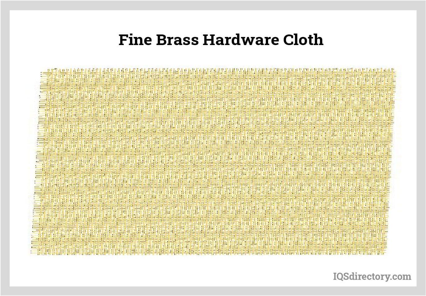 Fine Brass Hardware Cloth
