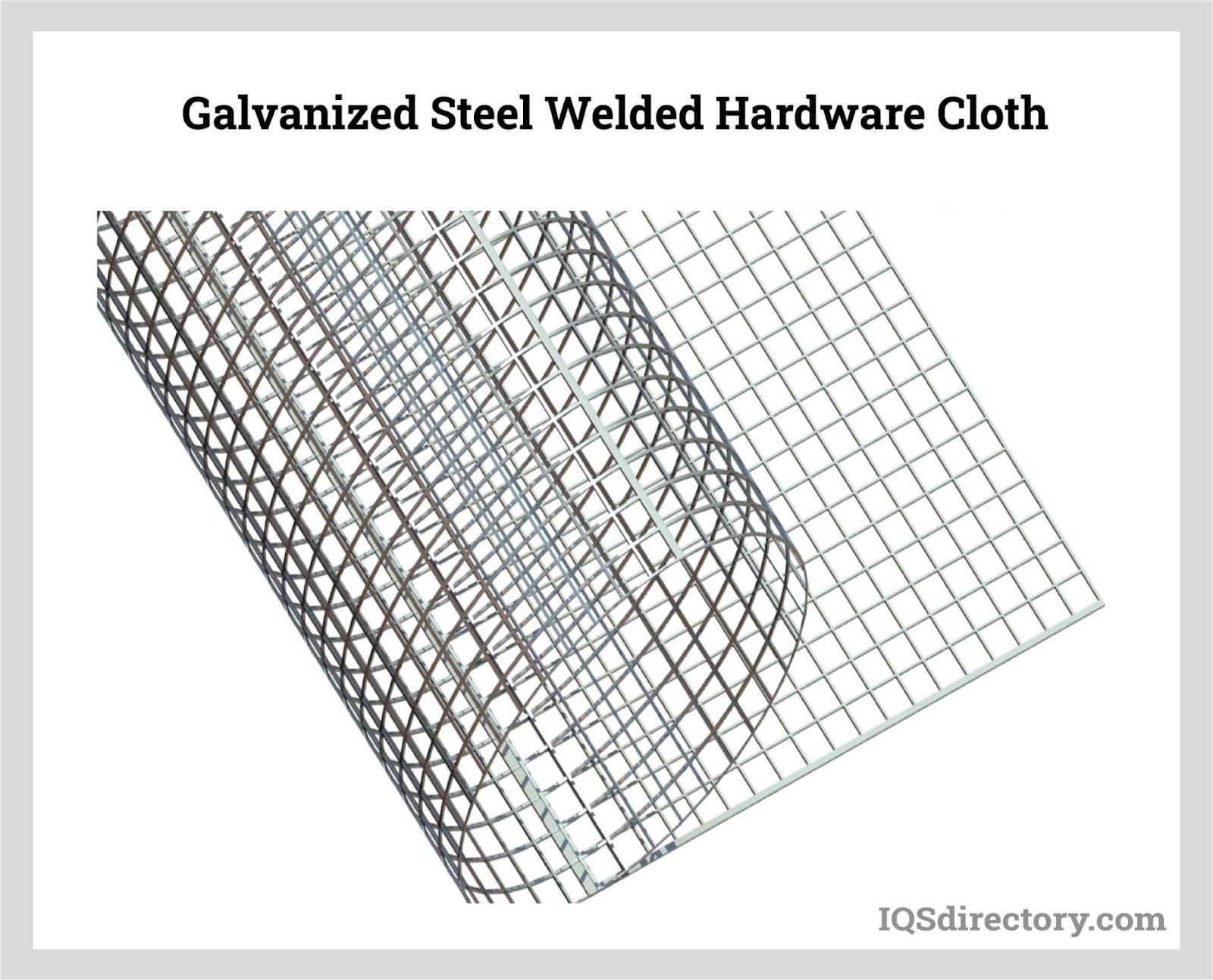 Galvanized Steel Welded Hardware Cloth