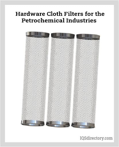 Hardware Cloth Filters for the Petrochemical Industries