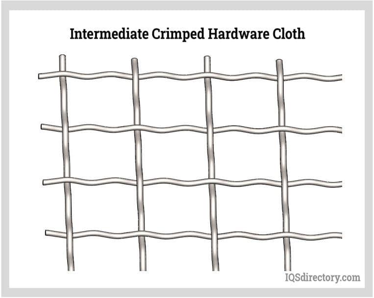 Intermediate Crimped Hardware Cloth