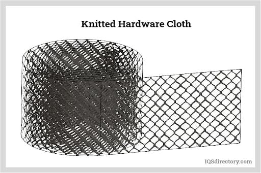 Knitted Hardware Cloth