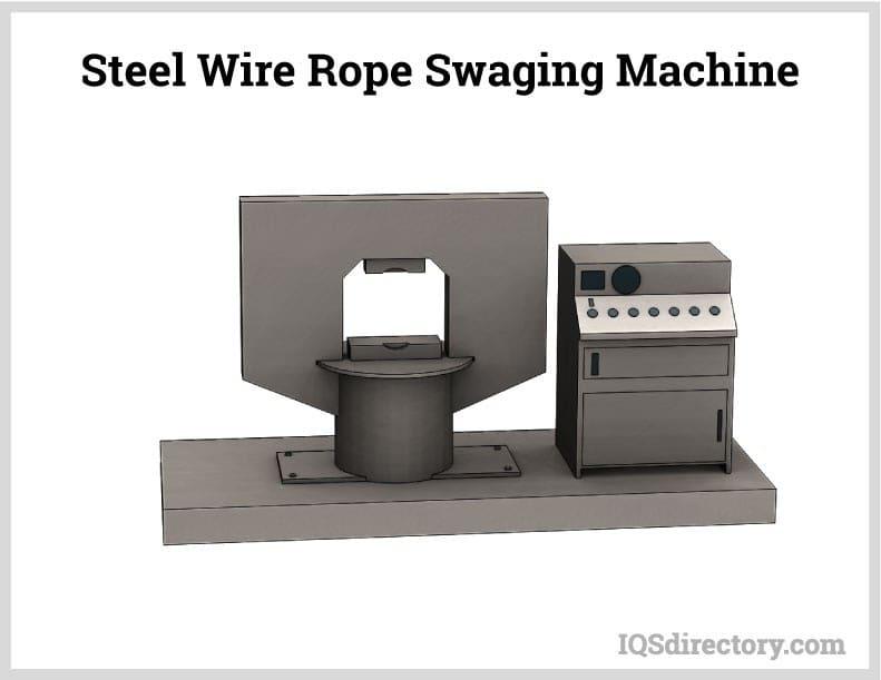 Steel Wire Rope Swaging Machine
