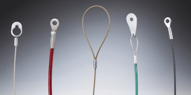Wire Rope Lanyards