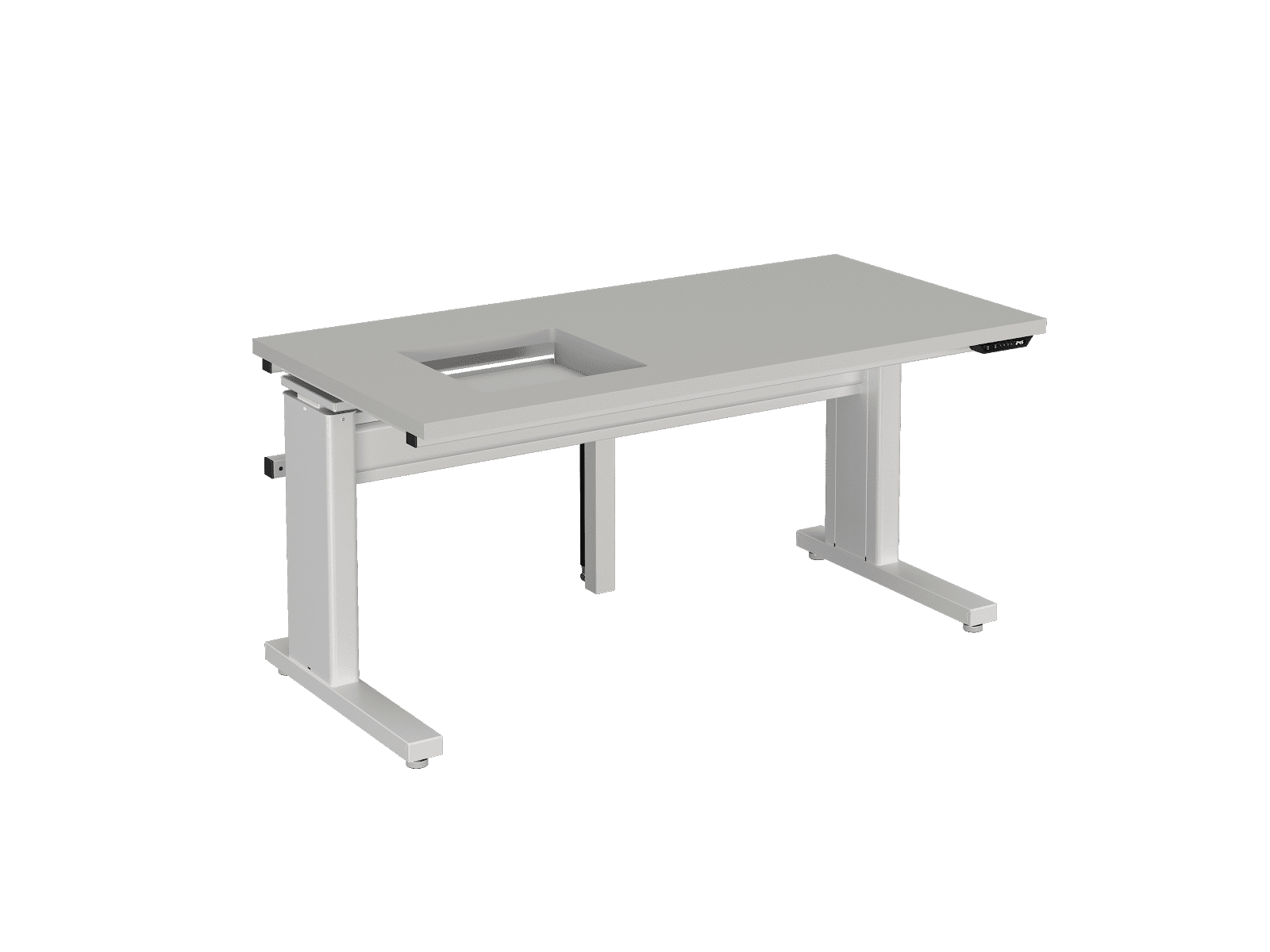 Custom Workstations with Electric Height Adjustment