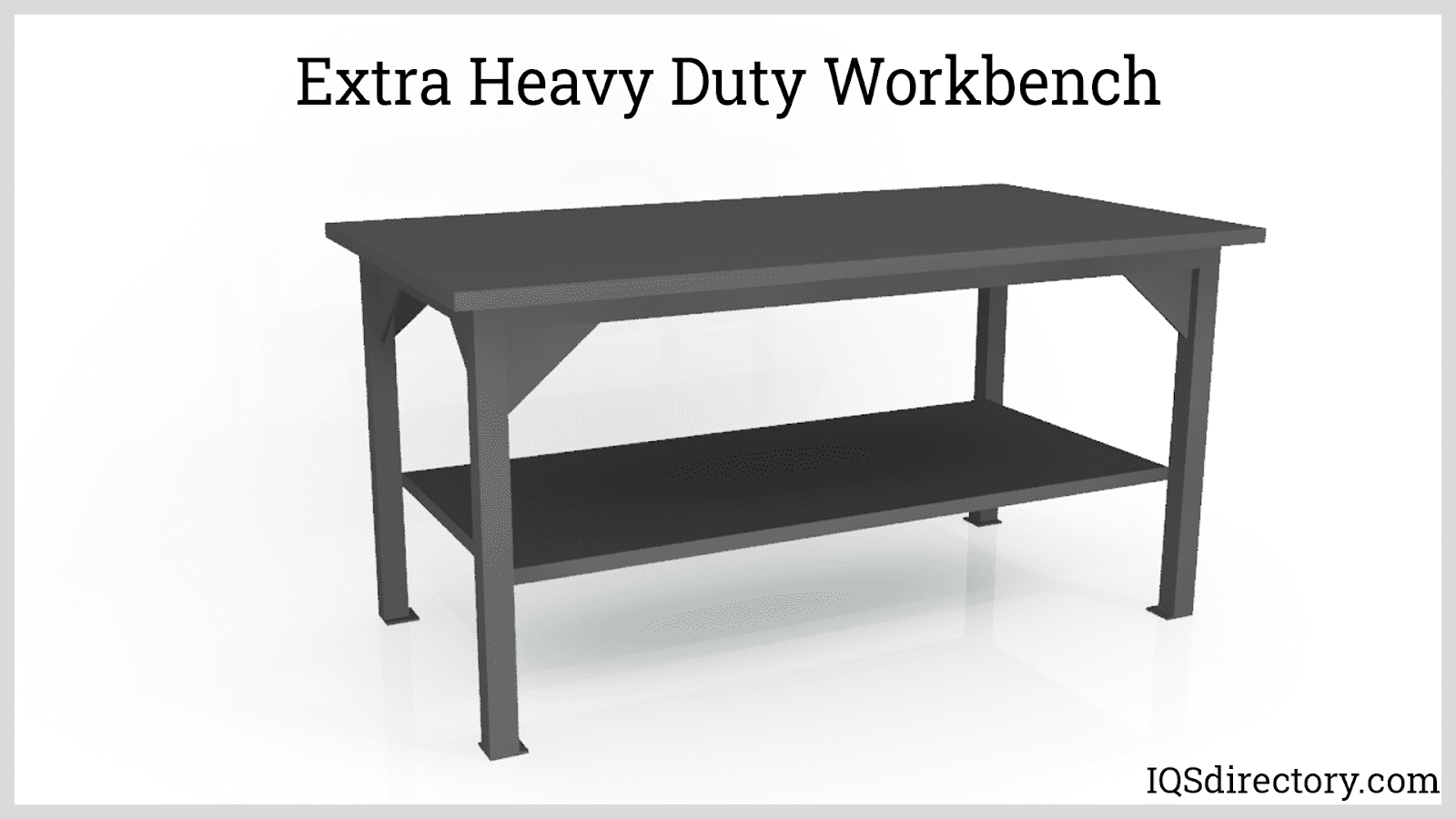 Extra Heavy Duty Workbench