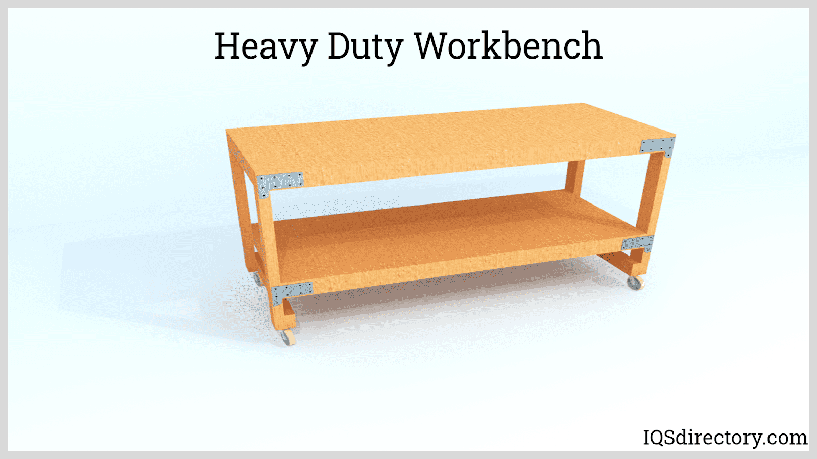 Heavy Duty Workbench