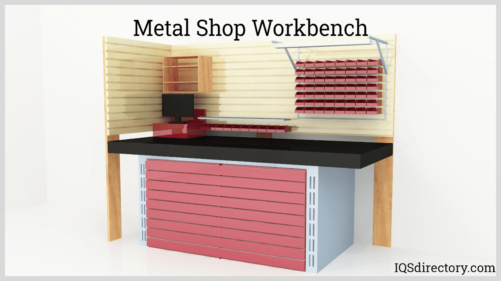 Metal Shop Workbench