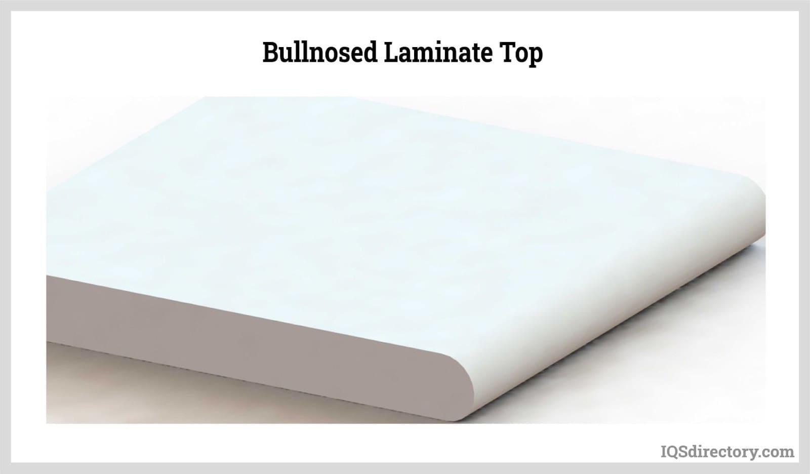 Bullnosed Laminate Top