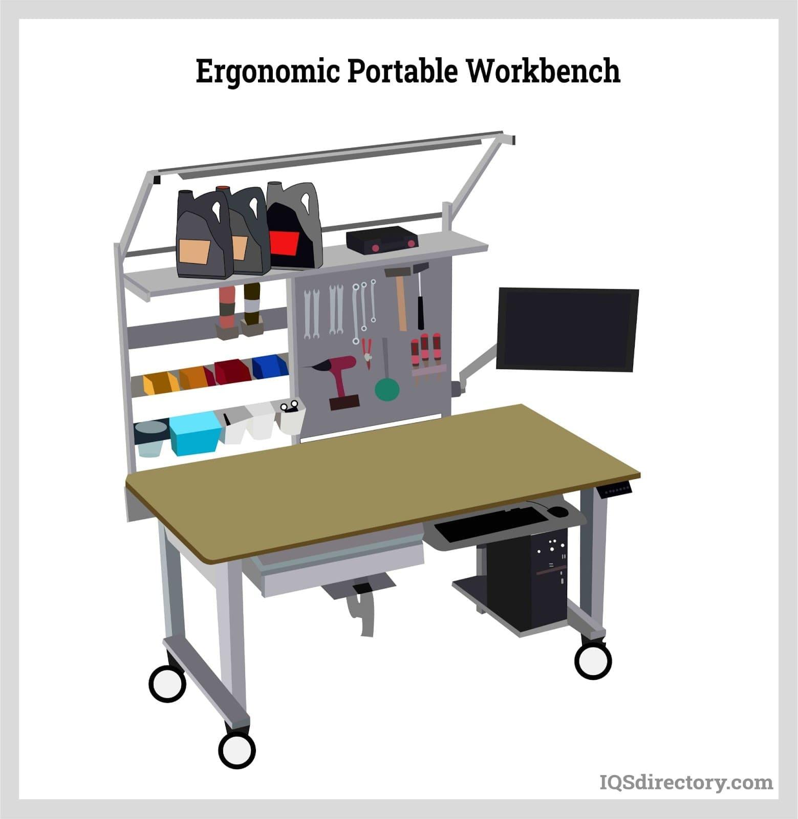 Ergonomic Portable Workbench