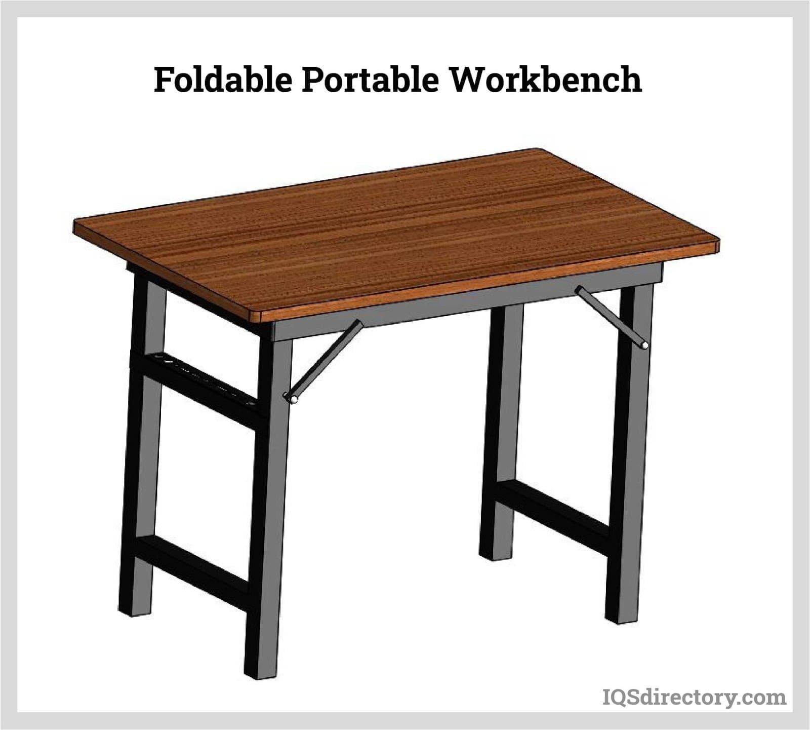 Foldable Portable Workbench