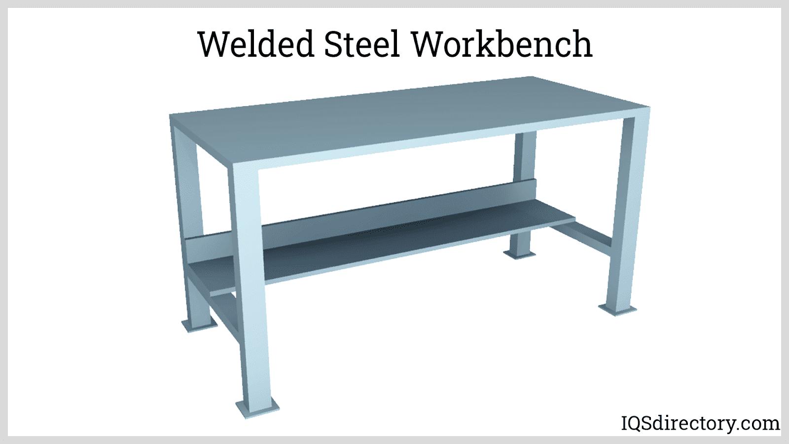 Welded Steel Workbench