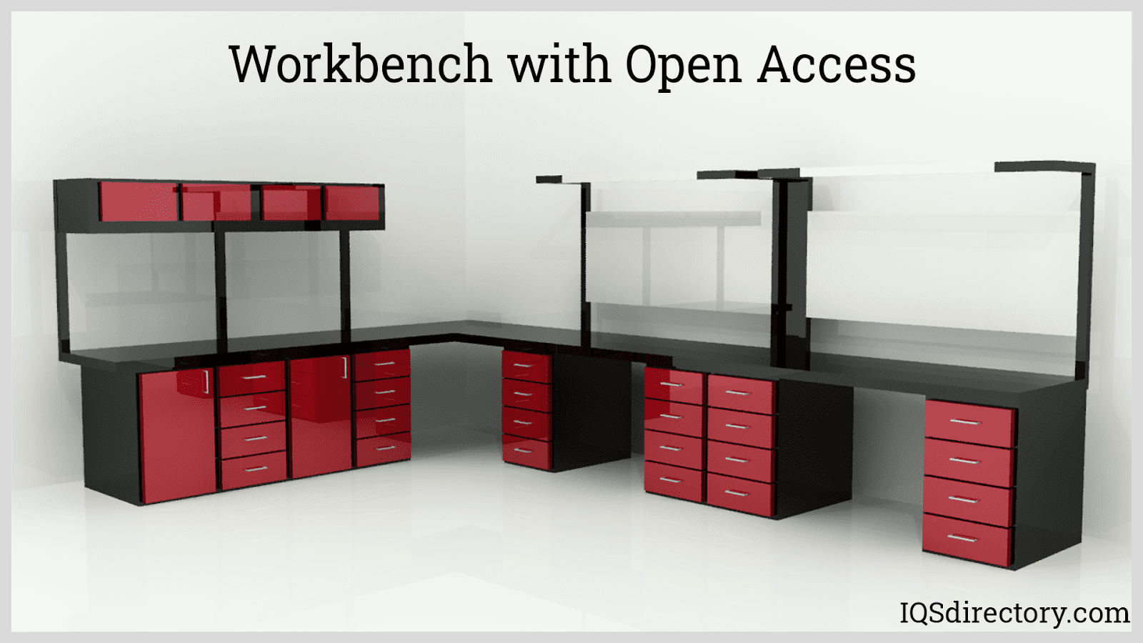 Workbench with Open Access