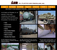 All Plastics and FIberglass new site