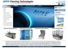 Jayco Cleaning Technologies new site