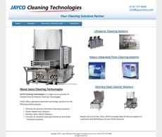 Jayco Cleaning Technologies old site