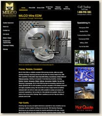 Milco Wire EDM new site