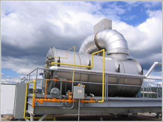 APC Technologies Inc. Thermal Catalytic Oxidizer with Incinerator