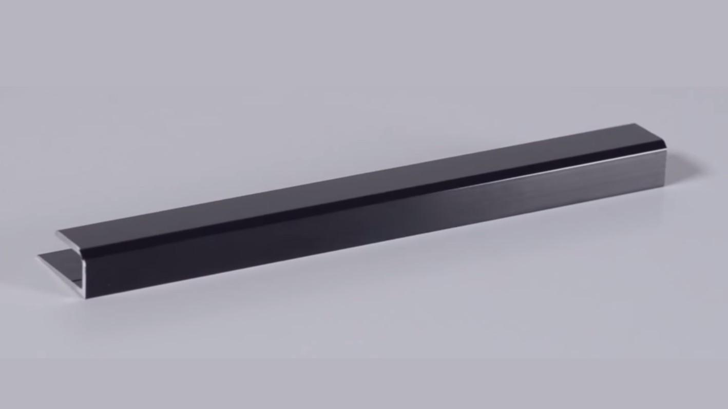 Black Anodized Aluminum Channel