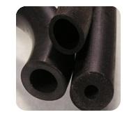 Black Rubber Tubing