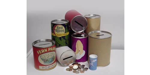 Cardboard Cans