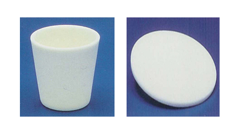 Conical Alumina Crucible and Disc
