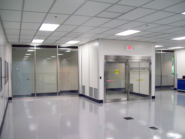 Positive Pressure Clean Rooms