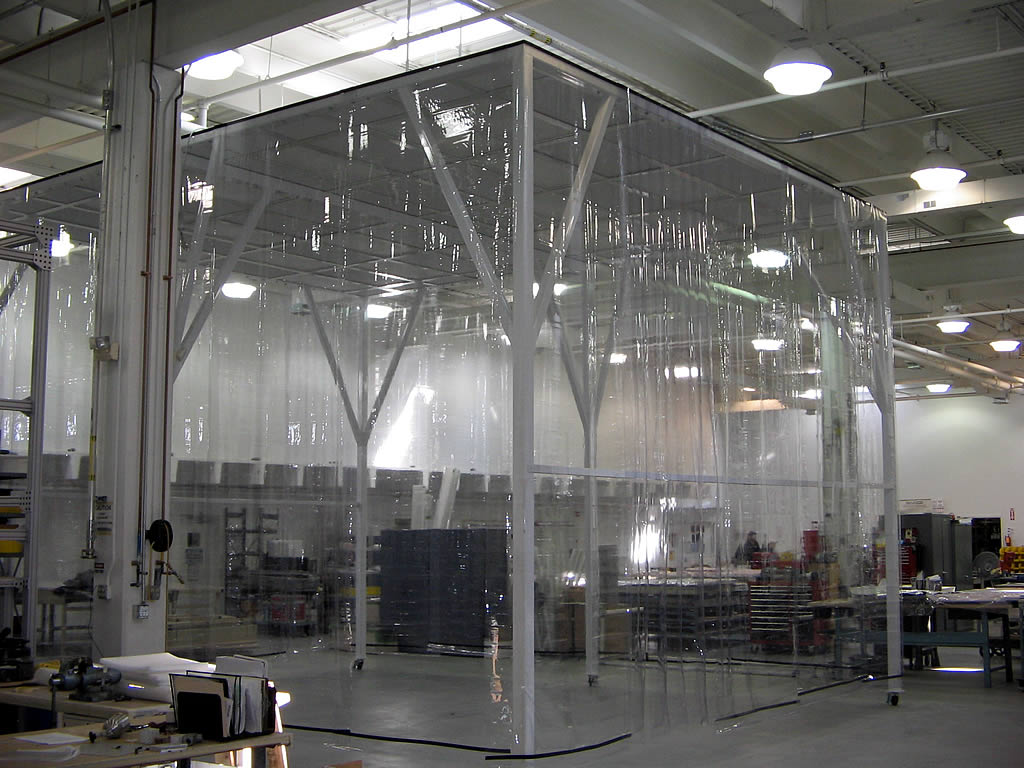 Industrial Softwall Cleanroom