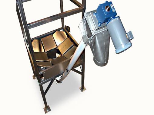 Flexible Screw Conveyor Bulk Bag Unloader