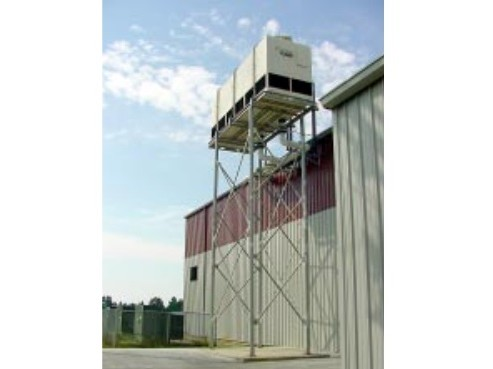 Elevated Fiberglass Cooling Towers