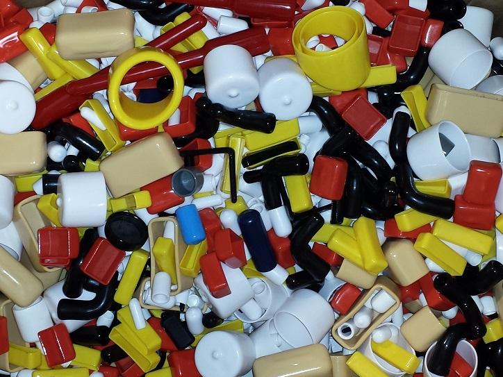 Assorted Plastic Caps