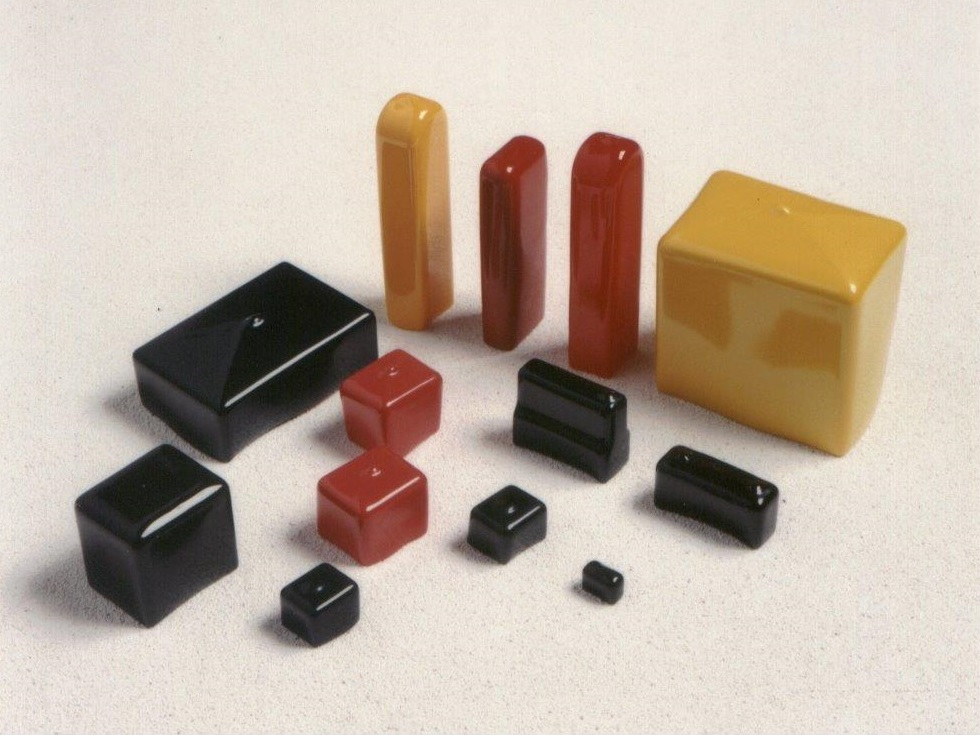 Rectangular Vinyl Caps