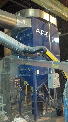 Used ACT 4-16 dust collector
