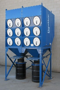 Used Torit DFO 3-24 Downflo Oval dust collectors