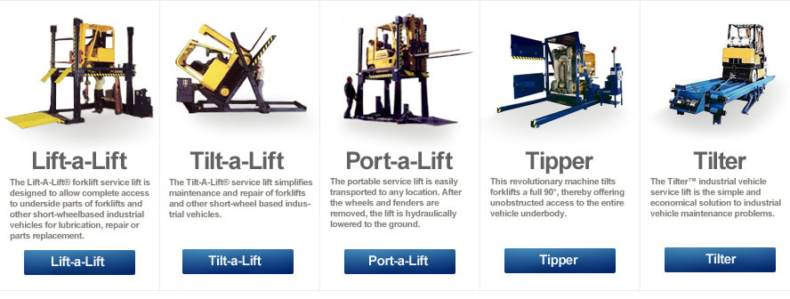 Tilt-Or-Lift Forklift Trucks