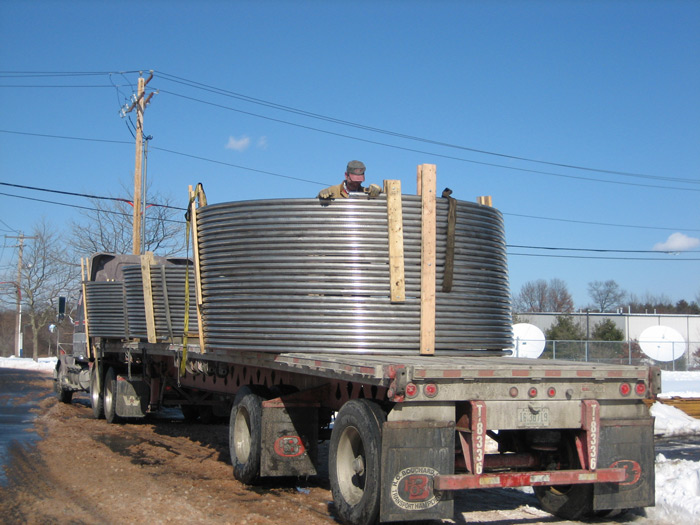 Helical Heat Transfer Coils
