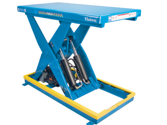 Heavy-Duty Electro-Hydraulic Scissor Lift Table