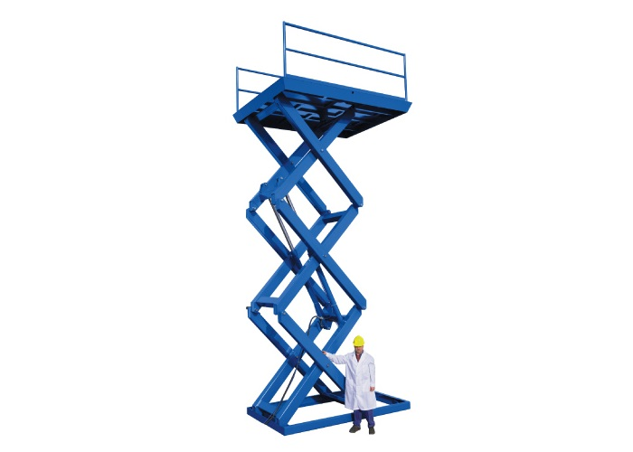 Multiple Stage Scissor Lifts