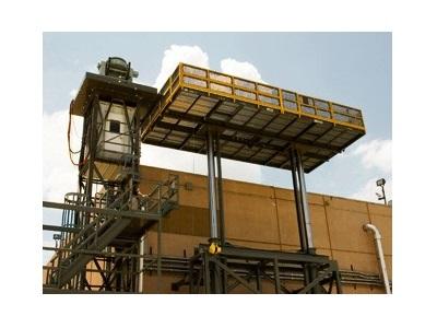 High Capacity Vertical Ram Lift
