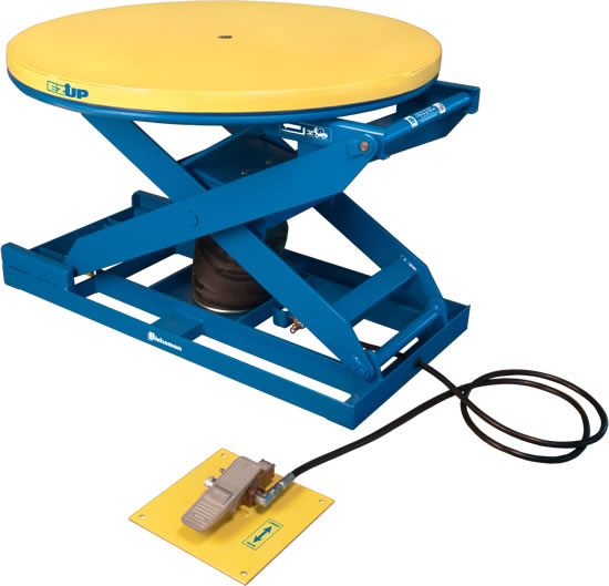 Pneumatic Scissor Lift Tables