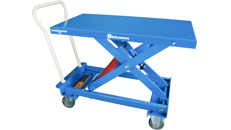 MobiLeveler® Self-Leveling Work Table